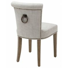 Buy Eichholtz Key Largo Chair - Off White Linen online with Houseology's Price Promise. Full Eichholtz collection with UK & International shipping.
