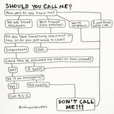 Introvert: Don't call me!