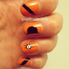 A Clockwork Orange nails!