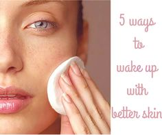 How to wake up with better skin #beautytricks #beleza #beautyhacks