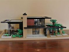 Dr. Z's Contemporary Retreat: A LEGO® creation by Chris Melby : MOCpages.com