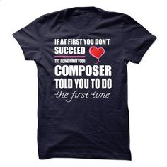 I am a/an Composer - #funny tshirts #black hoodie womens. ORDER HERE => https://www.sunfrog.com/LifeStyle/I-am-aan-Composer-54596294-Guys.html?60505