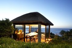 Outdoor spa gazebo at twelve Apostles Hotel & Spa, Atlantic Seaboard, Cape Town, South Africa