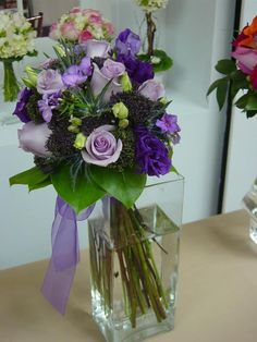 Lovely Lavender and Perfectly Purple Bouquets | WeddingAces