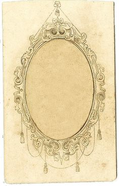 Gallery For > Antique Oval Frames Tattoo