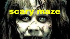 Today, I am getting jump scared by a maze! I am playing the maze! It really freaked me out! I jumped when I got jump scared. Why am I playing this game? Scary Maze, Movies, Movie Posters, Films, Film Poster, Cinema, Movie, Film, Movie Quotes