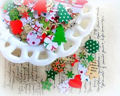 Christmas Holiday Confetti Mix