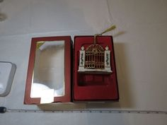 2007 First Year In New Home Lenox Porcelain Gate annual Christmas ornament NOS #Lenox