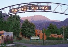 Manitou Springs, Colorado Great Places, Places To See, Beautiful Places, Manitou Springs Colorado, Colorado Homes, Pikes Peak, Thing 1, The Great Outdoors, Places To Travel