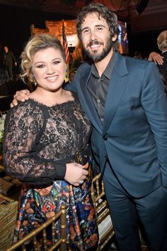 Josh Groban's album of Broadway covers, Stages, isn't set to come out until late April, but the singer released one of its tracks via Broadway World early—and bonus: It's a duet with Kelly Clarkson.