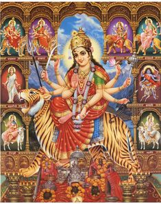 Indian Goddess, Goddess Lakshmi, Hindu Deities, Hinduism, Durga Ji, Kerala Mural Painting, Ganesh Images, Happy Navratri, Ganesha Art