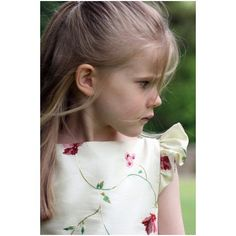 Isobel ivory and purple embroidered flower girl dress with flounce sleeves by UK designer Little Eglantine Pretty Flower Girl Dresses, Designer Flower Girl Dresses, Girls Dresses Uk, Girls Bridesmaid Dresses, Jewels Clothing, Luxury Flowers, Embroidered Flowers, Dream Dress, Boy Outfits