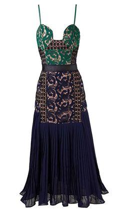 Posh Girl Rosalita Lace Midi Dress