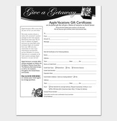 How To Word A Gift Certificate Magnificent 44 Free Printable Gift Certificate Templates For Word & Pdf .