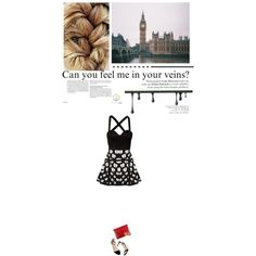 """""""Can you feel me in your veins?"""" by miissbonbon on Polyvore"""