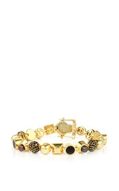 Collage Bracelet Gold - Eddie Borgo Resort 2016 - Preorder now on Moda Operandi
