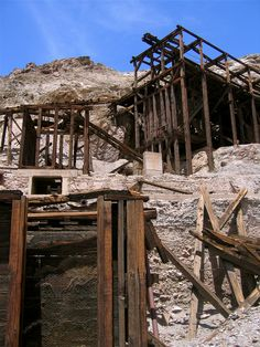 California -- Inyo County -- Death Valley National Park -- Keane Wonder Mine