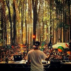 Kygo in Electric Forest. #EDM