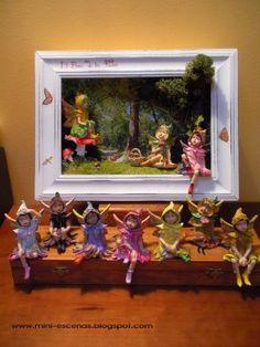 Mini Escenas, Miniaturas by Eva Perendreu: Bosc de les Fades-Fairies' Forest