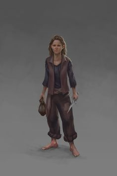ArtStation - Thief, Julie Kabbache
