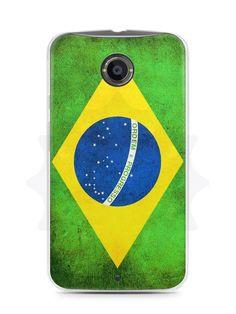 Capa Capinha Moto X2 Bandeira do Brasil - SmartCases - Acessórios para celulares e tablets :)