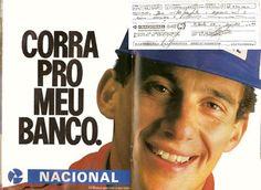 Cópia do cheque de Ayrton Senna, manuscrito pelo piloto no dia 05 de dezembro de 1992, na sua conta do Banco Nacional.