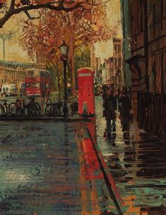 paintings of rain - Buscar con Google