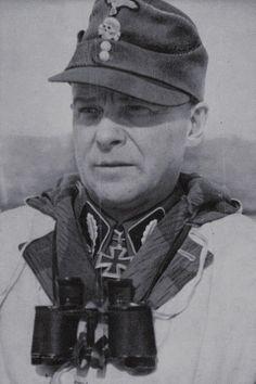 Waffen-Standartenführer Voldemārs Veiss (1899-1944), Kommandeur (lett.) SS-Freiwilligen Grenadier Regiment 48, Ritterkreuz 09.02.1944