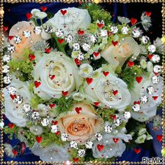 Foto animada Good Morning Picture, Good Morning Flowers, Flowers Gif, Pretty Flowers, Beautiful Gif, Beautiful Roses, Love Images, Love Pictures, Valentine Picture