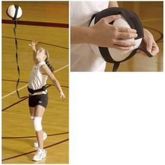 Tandem Volleyball Pal ($17.99) My life just got more easy.