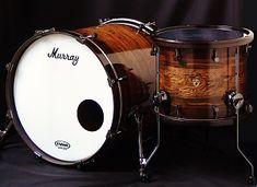 Custom bacote segment drum kit