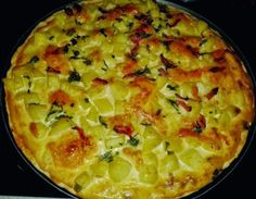 Pizza-quiche De Patata