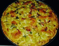 Pizza-quiche De Patata