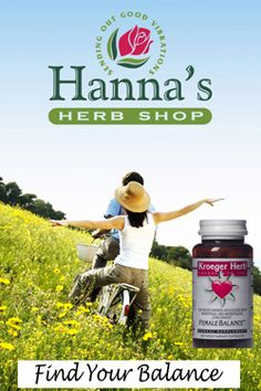 Hanna's Herb Shop aka Kroeger's Herbs. We thank them for advertising with us