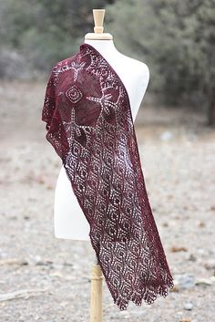 Ravelry: Crimson Blossom pattern by Rosemary (Romi) Hill