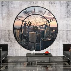 """Stála, vodeodolná vliesová """"Fototapeta - NYC Time Zone"""" je určená na lepenie na stenu s použitím lepidla na tapety. Fototapeta s inšpirujúcim motívom bude skvelou ozdobou vášho domova. Tento typ tapety je možné lepiť v každej miestnosti, dokonca aj v kuchyni alebo v kúpeľni. 100% vlies kryje drobné nedokonalosti múru, vytvára teplú izolačnú vrstvu a dovoľuje stenám dýchať. Tapeta má polomatnú povrchovú úpravu. Šírka role je 50 cm."""