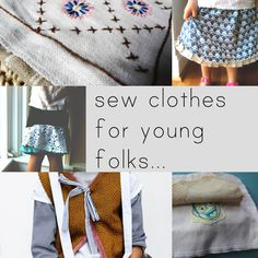 sew clothes for small folks - TONS of links to free sewing patterns for kids Sewing Patterns For Kids, Sewing Projects For Kids, Sewing For Kids, Baby Sewing, Free Sewing, Sewing Crafts, Clothes Patterns, Sewing Kids Clothes, Kids Clothing