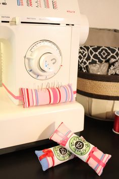 another sewing machine pin cushion!