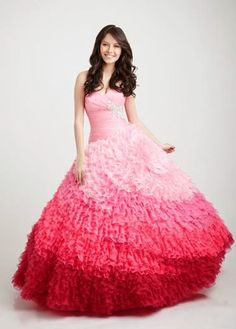 Lindos vestidos de 15 años estilo princesa | Moda 2014