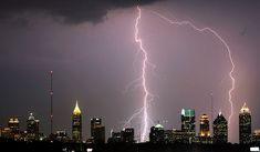 Atlanta's Summer Lightning Storms Can Cause a Surge in Attic Fires