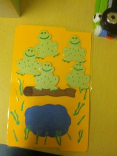 File folder game: five little speckled frogs 5 Little Speckled Frogs, File Folder Games, Five Little, Busy Bags, Nursery Rhymes, Baby Shower, Activities, Kids, Tote Bags