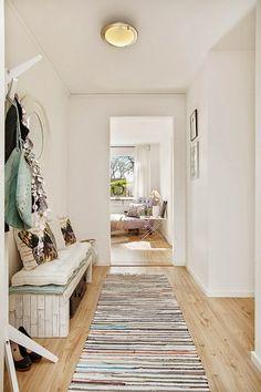 Accente violet într-un apartament de două camere Jurnal de design interior