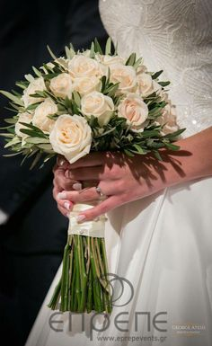 #weddingbouguet #olivetheme #weddingideas #νυφικόμπουκέτο #νυφικόμπουκέτομεφύλλαελιάς