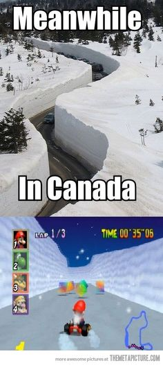 Canada is Nintendo in real life