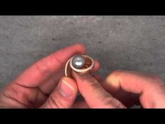Angela Hubel - Red Gold & Diamonds & Pearl Gallaxy Ring - ORRO Contemporary Jewellery Glasgow - YouTube