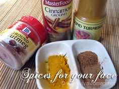 Three spices for post acne marks.