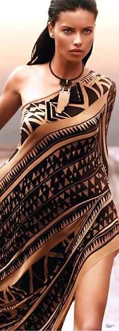 Love Donna Karan's Samoan style.                                                                                                                                                      More