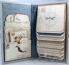 1000 ideas about waterfall cards on pinterest card for Waterfall design in scrapbook