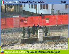 Confini amministrativi - Riigipiirid - Political borders - 国境 - 边界: 2004 IT-SI Itaalia-Sloveenia Italia-Slovenia Siena, Slovenia, Nova, Politics, Italia