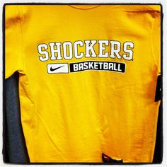 All YELLOW merchandise is 10% off in the Shocker Locker today! Stop by Charles Koch Arena between 9 & 6 to pick up some new gear!  #WATCHUS